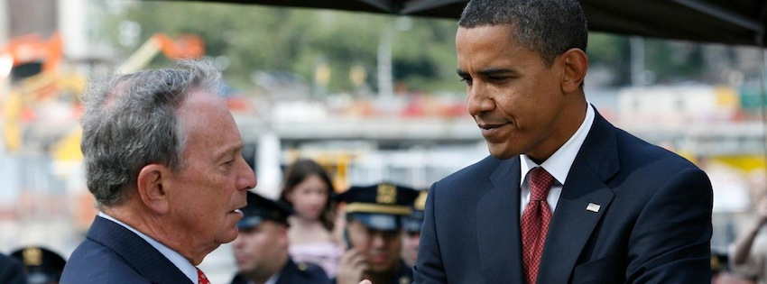 Political independent Mayor Bloomberg gives sudden endorsement to President Obama.