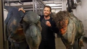 chris pratt dino prank