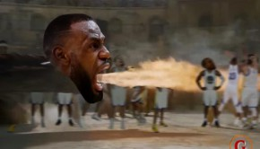 lebron tourches warriors