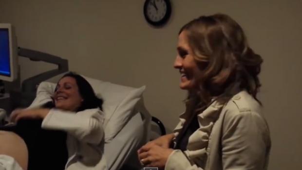 sister pregnancy reveal